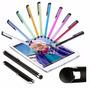 Lapiz Optico Capacitivo Stylus Tablet Celular Ipad Colores !