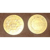 Moedas De 1000 E 2000 Réis De 1927/1939