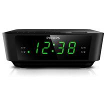 Philips Radio Reloj Despertador Sintonizacion Digital Ledred