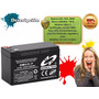 Bateria Pila 12v 7ah Lampara Ups Cerco Electrico Alarma