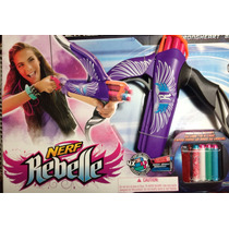 Nerf Rebelle Arco Lanza Dardos Strongheart Secret Spies