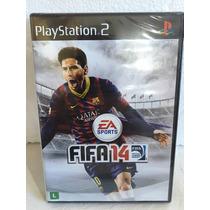 Playstation 2 : Fifa 14 Novo Original Nacional Lacrado