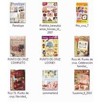 9 Revistas Para Manualidades En Punto De Cruz (lote 3)