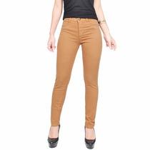 Calça Jeans Feminina Cintura Alta Com Lycra Levanta Bumbum