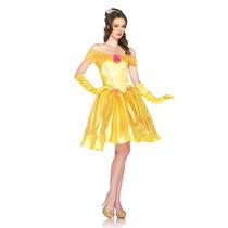 Disfraz De Bella Y La Bestia Princesas De Disney Para Damas