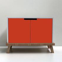 Mundo Minimal Mueble Cómoda Diseño Nórdico Madera Rack Lcd