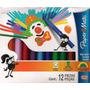 Caja De 12 Marcadores Gruesos De Colores Paper Mate