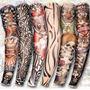 Disfraz Efivs Artes Temporales Mangas Del Brazo Del Tatuaje