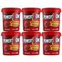 6x Pasta De Amendoim - Brigadeiro Proteico - Power One