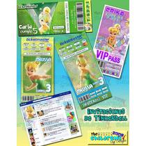 Invitaciones Tinkerbell-invitaciones Campanita-princesas