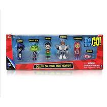 Jovens Titans Teen Titans - 6 Pçs - Pronta Entrega
