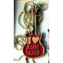 Arg Collar Bilibers I Love Justin Bieber Unico Genial Pop