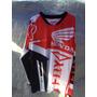 Jersey Polera Motocross Honda Valparaiso