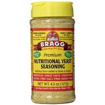 Bragg Condimento Levadura Nutricional, Premium, 4.5 Onzas
