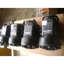 Juego De 4 Luces Americandj Gazer,con Controlador T4 Elation