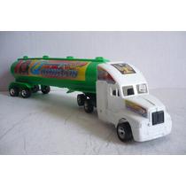 Trailer Pipa Quimicos - Camioncito D Juguete - Camion Escala