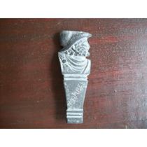 Estatueta Pericles Em Ardosia 10x4 50 Gramas Frete Grátis