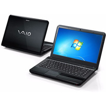 Notebook Sony Vaio Vpcea33fb Intel Core I3-370m, 4gb, Preto
