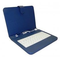 Funda Con Teclado Usb Para Tablet 8 Pulgadas Stylus Qwerty