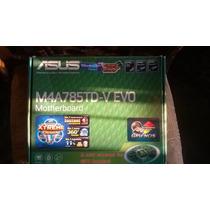 Tarjeta Madre Gamer Amd Asus M4a785td-v Evo