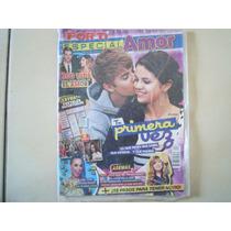 Revista Por Ti Justin Bieber Y Selena Gomez New Sellada