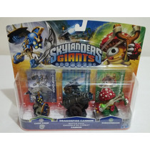 Skylanders Giants Chop Chop Dragonfire Cannon Shroomboom Ps3