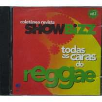Todas As Caras Do Reggae Cd Coletânea Showbizz Vol 2