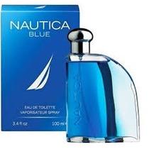 Perfume Náutica Blue Para Caballero 100 Ml Original Con Caja