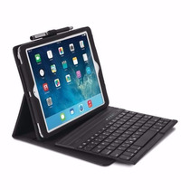 Teclado Bluetooth/ Funda Piel Kensington Pro Ipad Air 1 Y 2