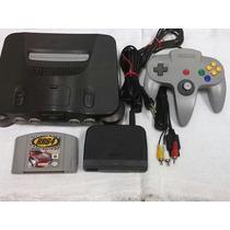 Nintendo 64 1 Jogo 1 Controle Funcionado 100%