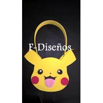 Souvenirs Bolsita Golosinera Pokemon Pikachu De Goma Eva
