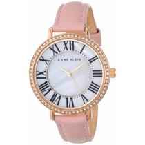 Reloj Anne Klein Swarovski Crystals Rosa Mujer Ak/1616rglp