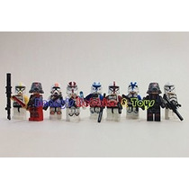 Nueva Minifigures Capitán Rex Sith Yoda W / 7 Dif. Troopers