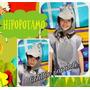 Disfraz Hipopótamo Animal Acto Concertar Selva Perro