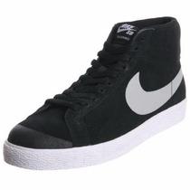 Botitas Nike Sb Blazer Premium Se Skate Bmx Long 631042-002