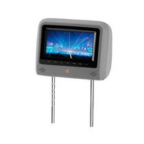 Encosto De Cabeça Kx3 Cinza Monitor Botoes Touch Lcd 7 Pol