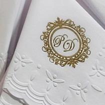 Guardanapos Papel Personalizados Casamento Bodas Ouro 200un