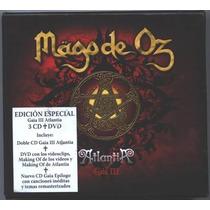 Mago De Oz Gaia Iii Edicion Especial 3cds+dvd Nacional