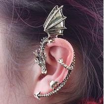 Ear Cuff Diseño Dragon