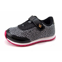 Zapatillas Beba Nena Velcro Elastico Glam 19-24 Childrens
