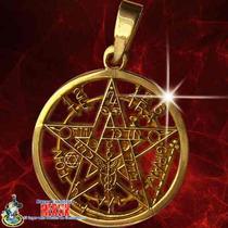Pentagrama De Oro 14k Máxima Calidad Y Definición