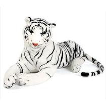 Peluche Tigre Blanco 60cm Excelente Calidad Funny Land