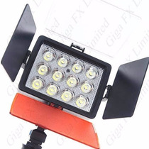 Lámpara Video Profesional 12 Leds Jumbo Fotografia Np-970