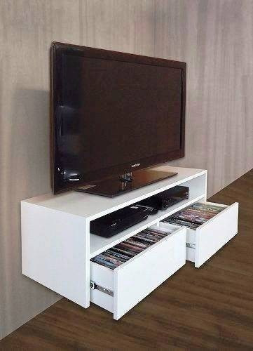 Mueble para tv melamina flotante s 299 00 en mercado libre for Mueble tv minimalista