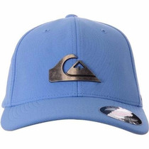 Boné Quiksilver Metal Flex Fit - Azul Bb