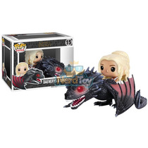 Boneco Pop Funko Game Of Thrones - Daenerys E Drogon 15