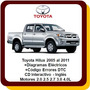 Toyota Hilux Manual Servicio Taller 2005 A 2011 Diagrama Ing
