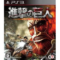 Attack On Titan Ps3 Lancamento 2016 Ps3 Psn Garantia