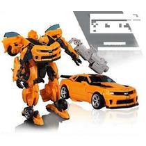 Carro Robo Transformers Bumblebee Pronta Entrega No Brasil.