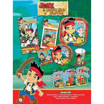 Jake Y Los Piratas Set De Fiesta